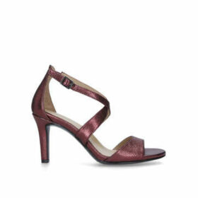 Naturalizer Kyra - Metallic Red Strappy Heeled Sandals