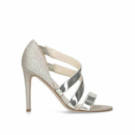 Nine West Idella3 - Metallic Gold Strappy Heeled Sandals