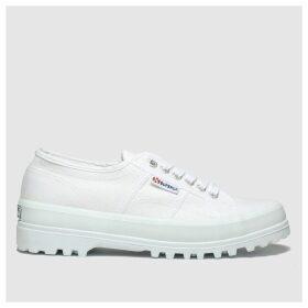 Superga White 2555 Cotu Trainers