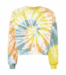 Cotton Tie-Dye Sweatshirt