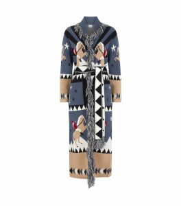 Sunrise Rodeo Long Wool Cardigan