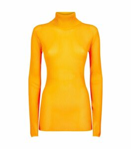 Neon Rollneck Sweater