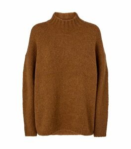 Dropped-Shoulder Sweater