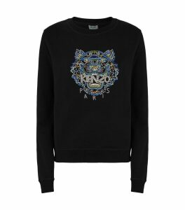 Embellished Icon Tiger Sweatshirt