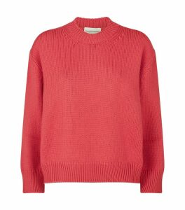Wool Round-Neck Sweater