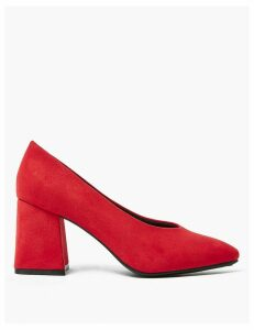 M&S Collection Statement Heel Court Shoes