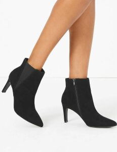 M&S Collection Stiletto Heel Chelsea Ankle Boots