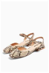 Womens Alaska Snake Square Toe Shoes - Multi, Multi