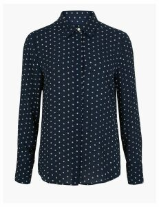 M&S Collection Ditsy Rose Blouse