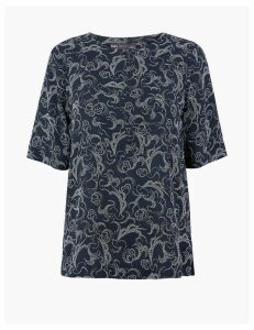 M&S Collection Constellation Print Shell Top