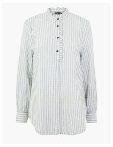 M&S Collection Pure Cotton Checked Shirt