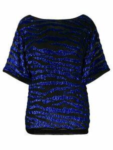 P.A.R.O.S.H. Gebrad blouse - Black