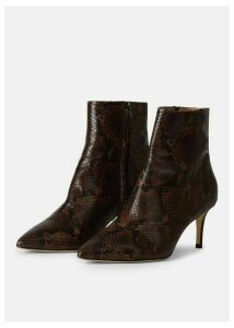Bella Boot Chocolate Snake