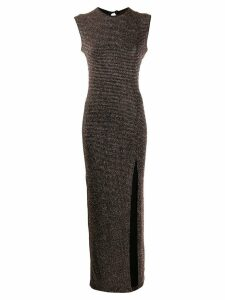 Styland fitted evening dress - Black