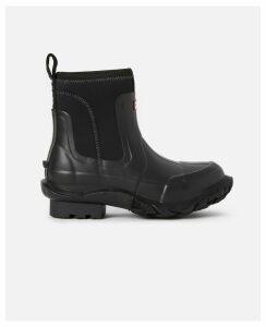 Stella McCartney Black Women's Stella x Hunter Boots, Women's, Size 7