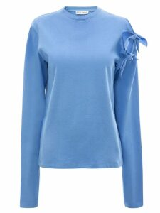 JW Anderson multiple knots long sleeve T-shirt - Blue