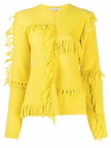 Stella McCartney fringe details jumper - Yellow