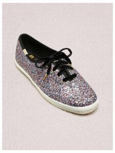 Keds X Kate Spade New York Champion Glitter Sneakers - Pink Multi - 3.5 (Us 6)