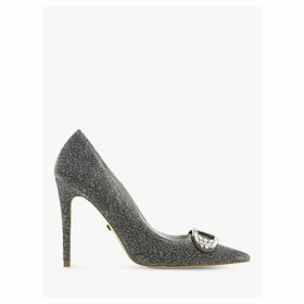 Dune Belvedere Stiletto Heel Court Shoes