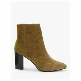 Boden Langley High Block Heel Ankle Boots, Gingerbread