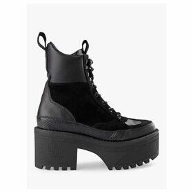 SHOE THE BEAR Celeste Hiker Boots, Black