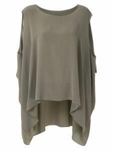 Uma Raquel Davidowicz Camas silk blouse - Green