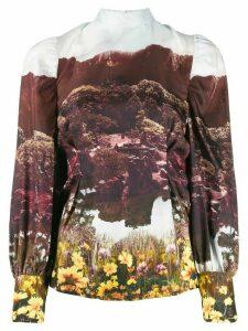 Baum Und Pferdgarten Fairyland print blouse - White