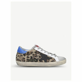 Superstar P85 leather trainers