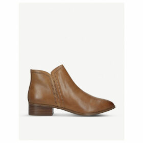 Kaicien leather ankle boots
