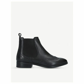 Alaeria leather Chelsea boots