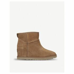 Classic Femme Mini suede boots