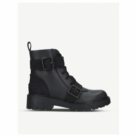 Noe leather boots