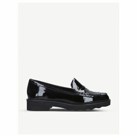 Alberta patent leather loafers
