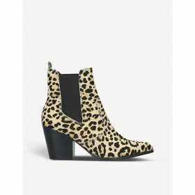 Patricia faux-leather ankle boots