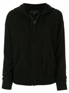 Nili Lotan cashmere zip-up hoodie - Black