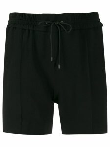 Kenzo side-striped track shorts - Black
