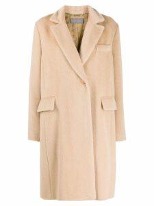 Alberta Ferretti Cappotto coat - Neutrals