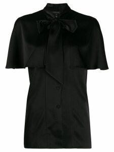 Escada pussy bow blouse - Black