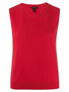 Escada sleeveless knit top - Red