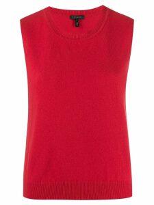 Escada sleeveless knit top - Red