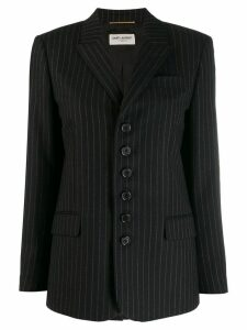 Saint Laurent pinstripe blazer - Black