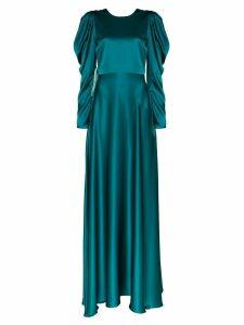 Roksanda Tala silk maxi dress - Blue
