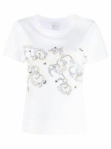 Escada Sport embroidered T-shirt - White