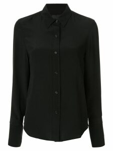 Nili Lotan pointed collar shirt - Black