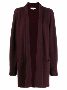 Vince open-front knit cardigan - Red