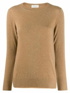 Zanone long sleeve jumper - NEUTRALS