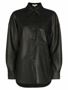 Tibi oversized button-down shirt - Black