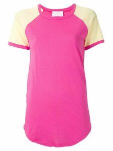 Andrea Bogosian raglan sleeves T-shirt - PINK