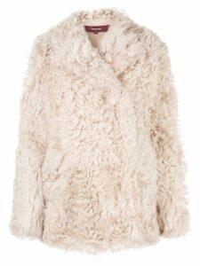 Sies Marjan concealed fastening jacket - Brown