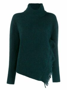 3.1 Phillip Lim knitted turtleneck jumper - Green